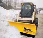 Meyer Skid Steer Straight Snow Plow Light Duty
