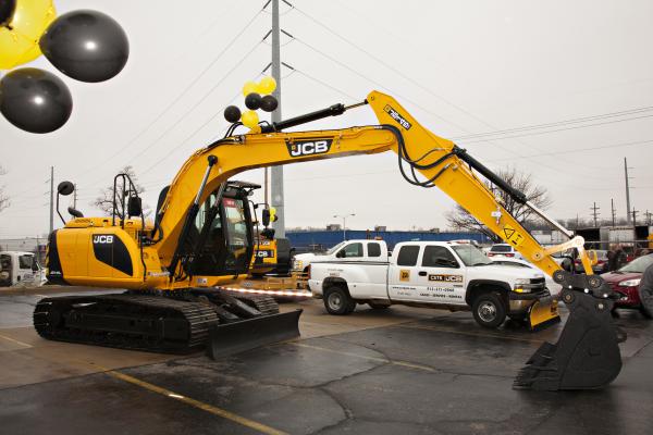 CSTK JCB Tracked Excavator Kansas City Open House Grand Opening Construction Equipment Kansas City KS KC