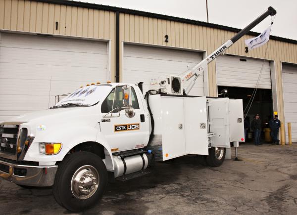 Kahn Truck Equipment KahnTEC Custom Mechanics Service Trucks CSTK JCB Open House Grand Opening Kansas City Kansas St. Louis Missouri KC KS MO STL