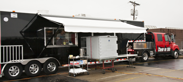 Custom Mobile Designs Barbecue Truck Kansas City BBQ CSTK JCB Open House Grand Opening Kansas City Kasas Missouri