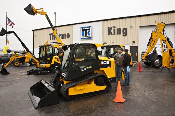 CSTK JCB Compact Track Loader Grand Opening Open House Construction Equipment Sales Rentals Kansas City KS KC MO