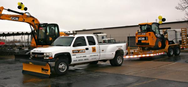 Meyer Snow Plows Snow Equipment CSTK JCB Open House Grand Opening CSTK JCB Kansas City Kansas Missouri KC MO KS